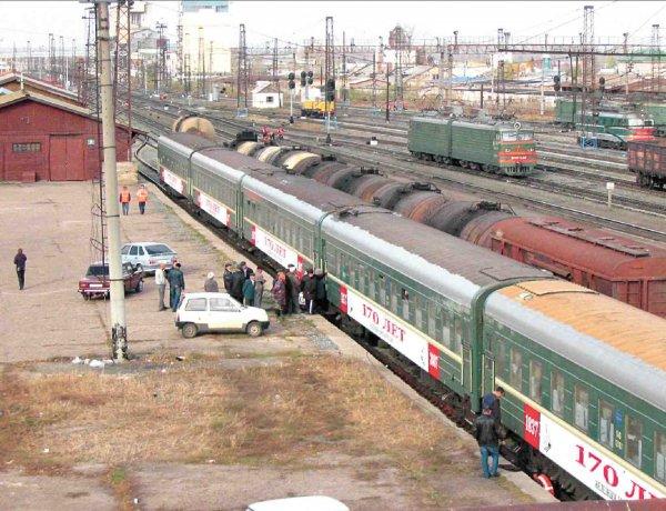 Железнодорожная станция в с.Аксаково