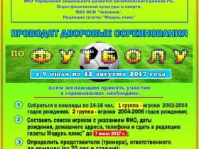 Лига дворовых чемпионов 2017 г.
